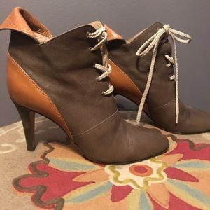 Tan and Brown Size 38 Chloe Boot